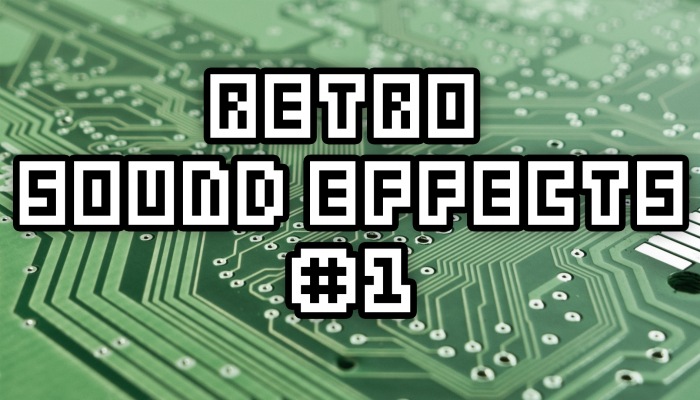 Retro Sound Effects Pack #1