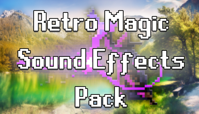 Retro Magic Sound Effects Pack