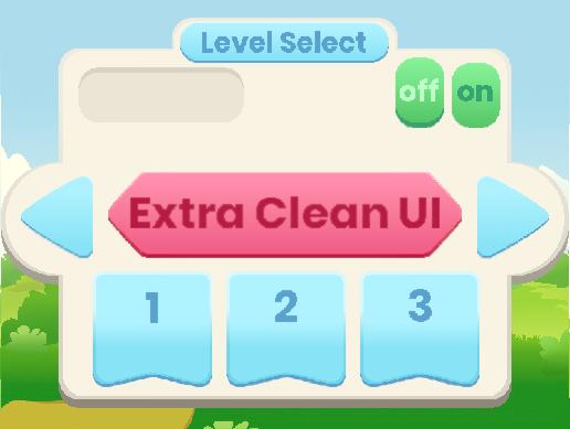 Extra Clean UI