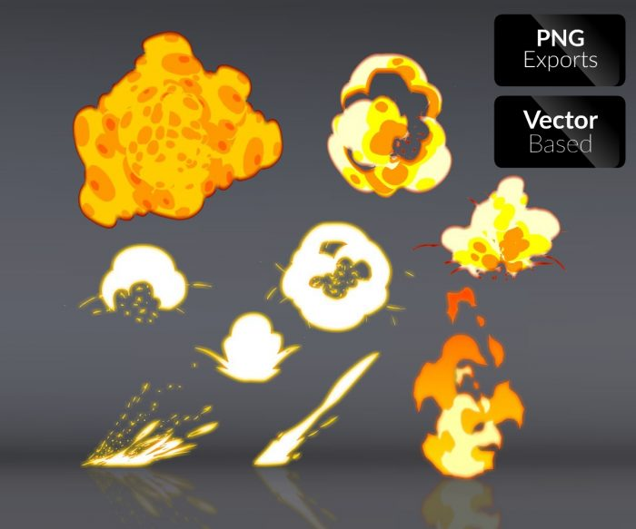 2D Explosions and Effects