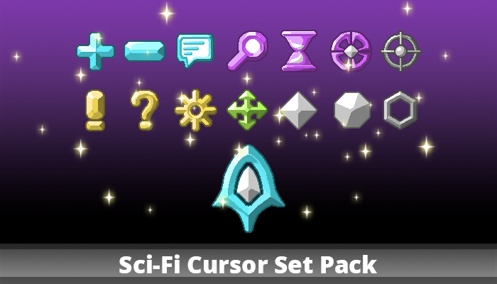 Sci-Fi Cursor Set Pack