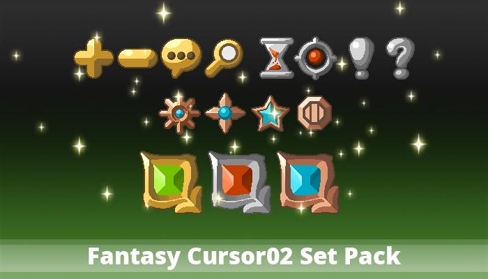 Fantasy Cursor02 Set Pack