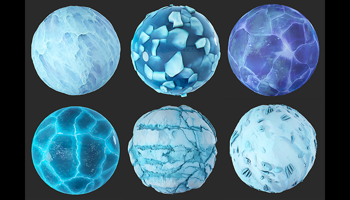 Stylized IceLand materials