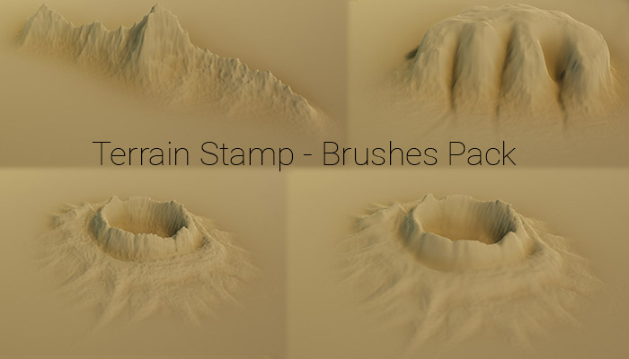 Unity Stamp Terrain Brushes Pack