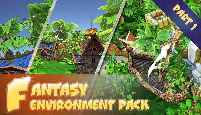 Fantasy environment pack. Part 1