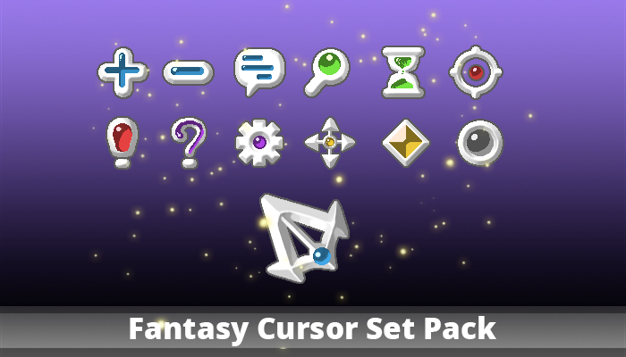 Fantasy Cursor Set Pack