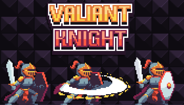 Valiant Knight – Pixel Art Character
