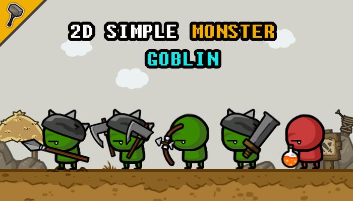 2D Simple Monster : Goblin