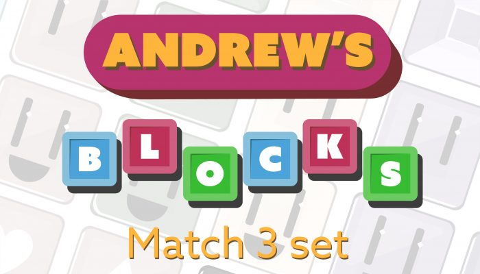 Andrew's Blocks – Match 3 Set