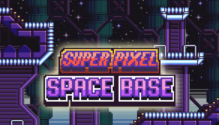 Super Pixel Space Base