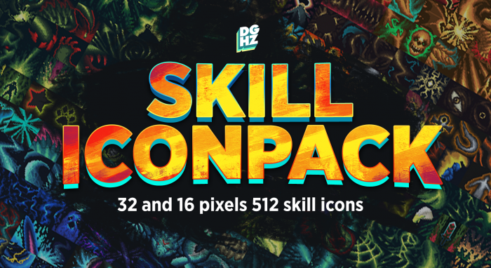 RPG Skill Iconpack