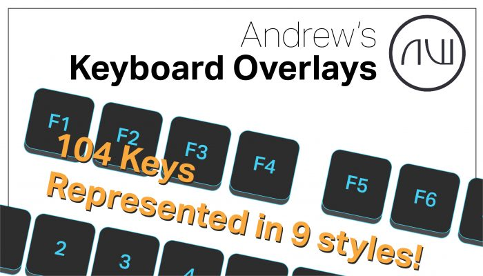 Andrew's Keyboard Overlay Collection