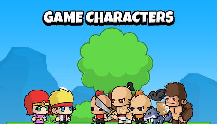 Warrior Adventure – Game Characters