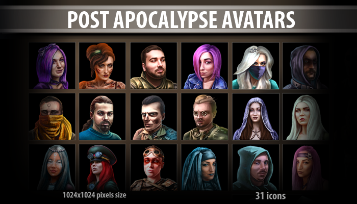 Post Apocalypse Avatars