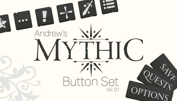 Andrew's Mythic Button Set Vol. 01