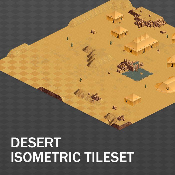Isometric Desert Tileset