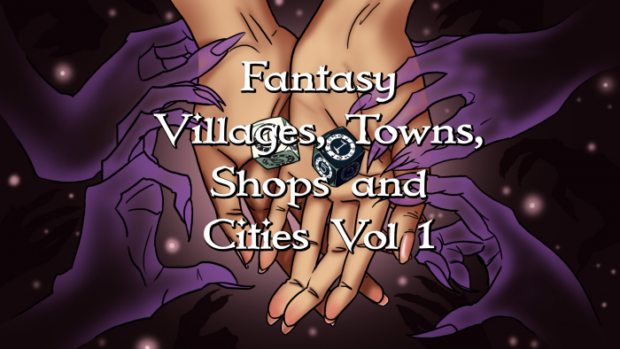 Fantasy Villages, Towns, Shops and Cities Vol 1