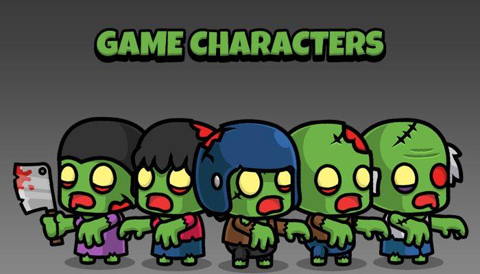 New Zombie Game Sprites