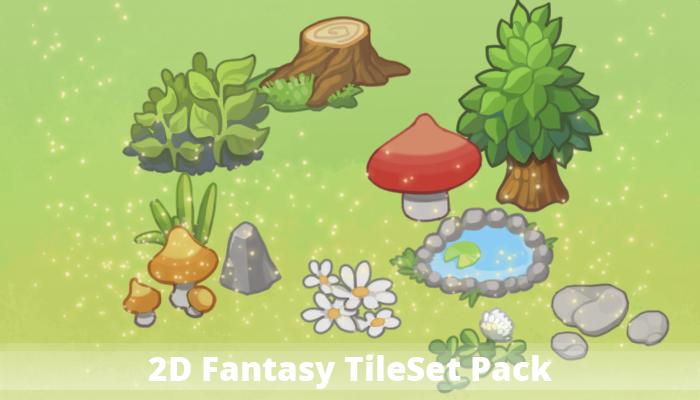 2D Fantasy TileSet Pack