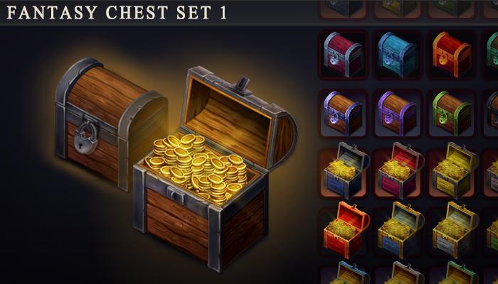 Fantasy Chest Set 1