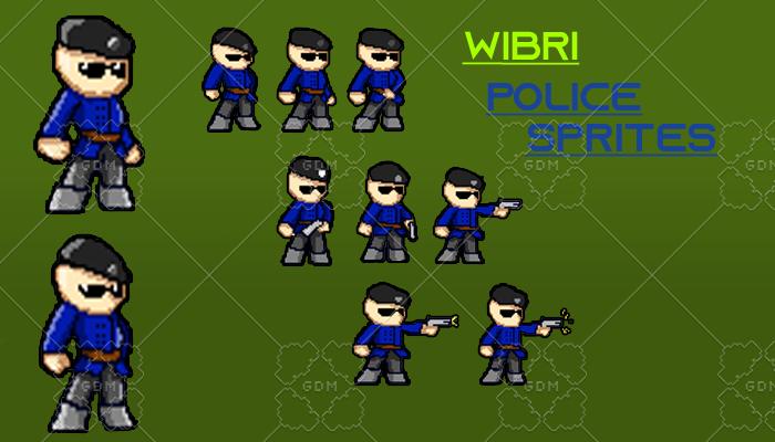 Police Sprites