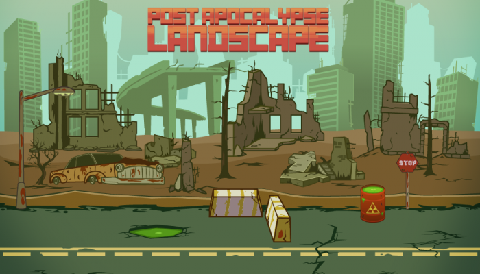 Post-apocalypse Vector Landscape