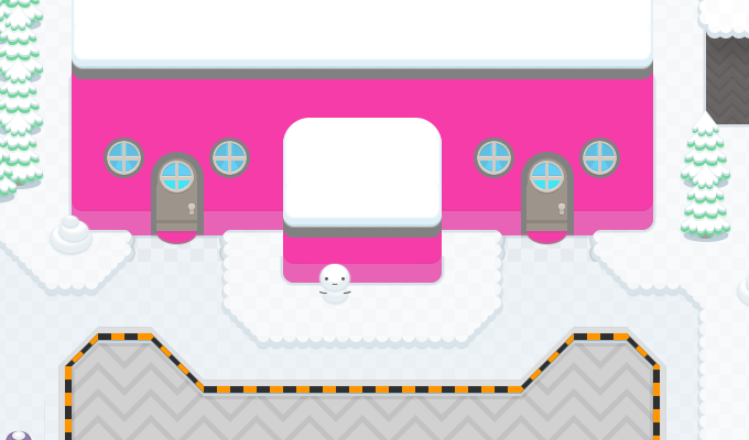 Winter Road Tileset