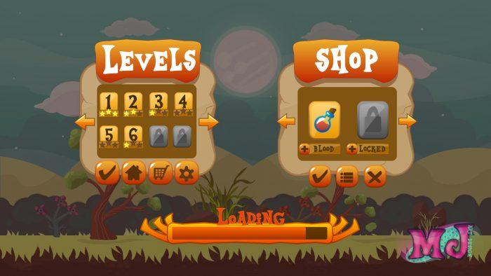 2D Game GUI