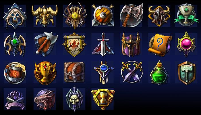Fantasy Badges Pack