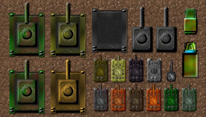 2 Types of Tanks + 2 Bonus Vehicles
