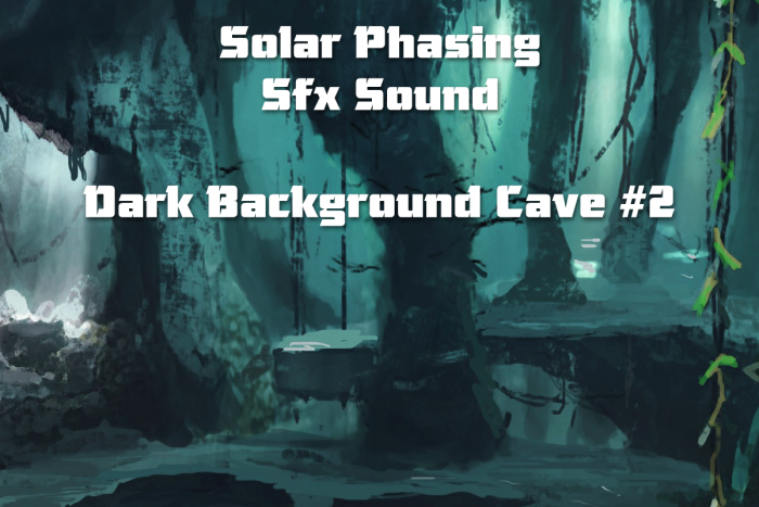 Dark Background Cave 2