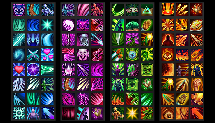 Fantasy Skill Icons Vol4