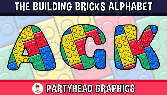 Assets For Children´s Games – The Building Bricks Alphabet (ENG-SPAN.)