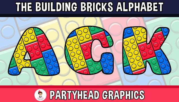 Assets For Children´s Games – The Building Bricks Alphabet (ENG-SPAN.)