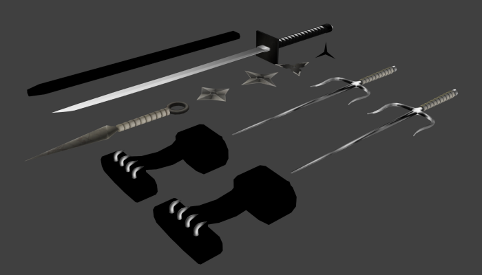 Exential Ninja Weapons