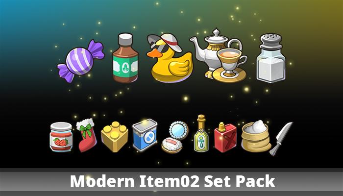 Modern Item02 Set Pack