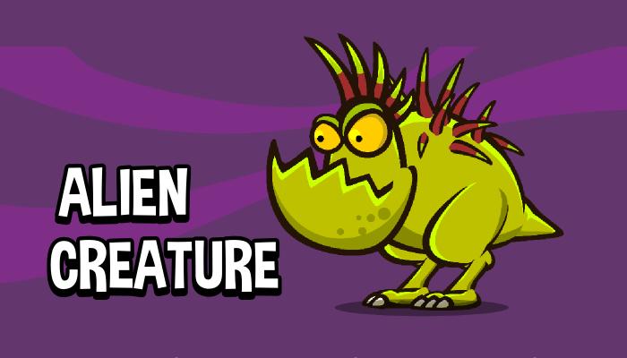 Alien creature 3