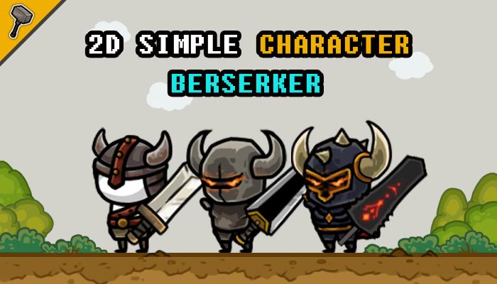 2D Simple Character : Berserker