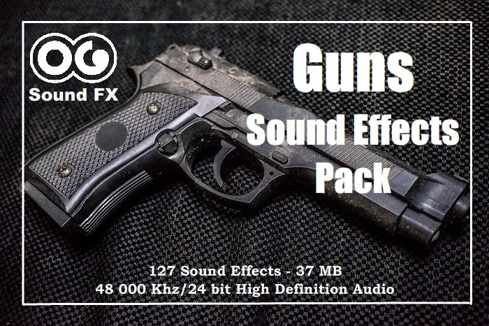 Hand Gun small SFX Pack