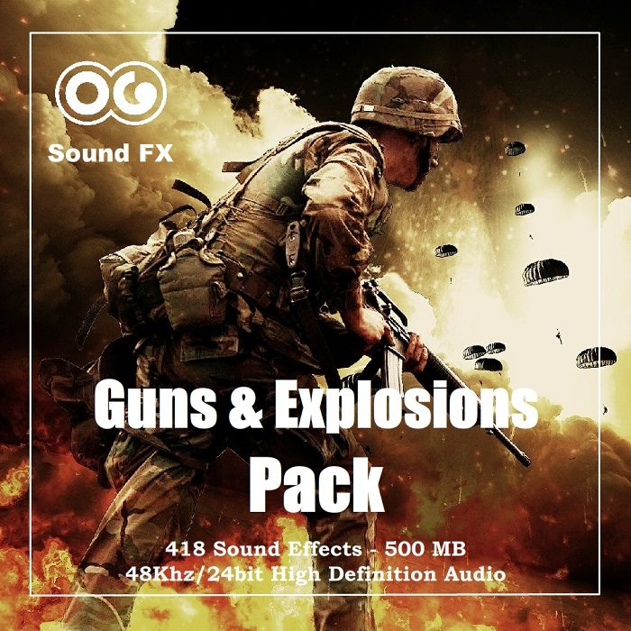 Guns and Explosions SFX Pack
