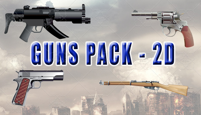 Guns Pack – 2D Assets