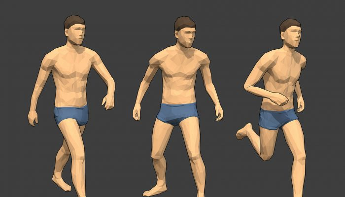 Rigged Lowpoly Male Character – Jim