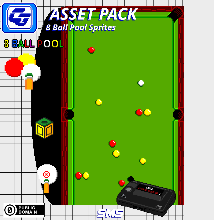 Asset Pack '8 Ball Pool' SMS