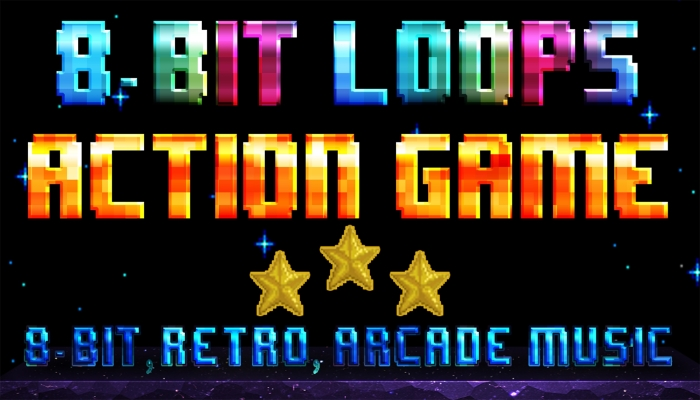 8BIT Action Game Loops