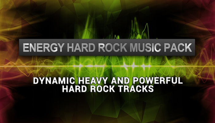 Energy Rock Music Pack