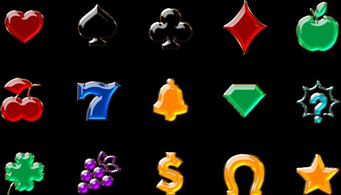 Slot Machine Gem Icons