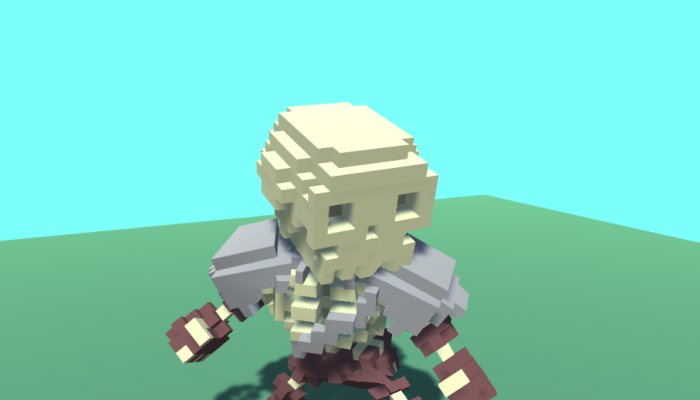 Voxel Skeleton