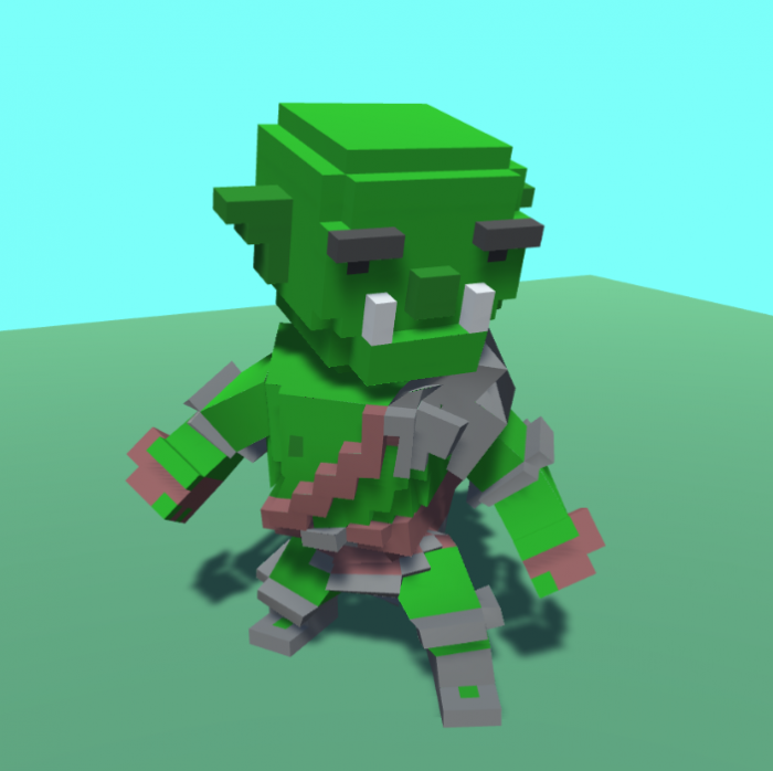 Voxel Orc