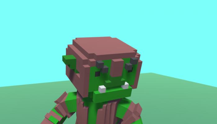 Voxel Goblin
