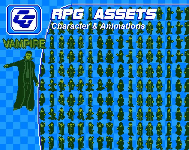 RPG Character 'Vampire' Gamboy